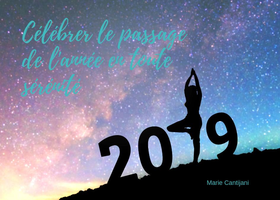 Célébrer le passage de la nouvelle année en toute sérénité